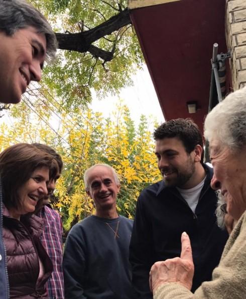 Bullrich, Pérez y Delfino, en Hurlingham